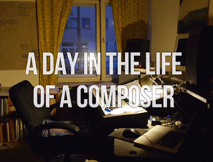 Torsten Rasch – A day in the life of a Composer