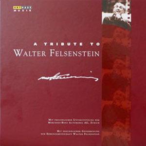 Special Edition – A Tribute to Walter Felsenstein